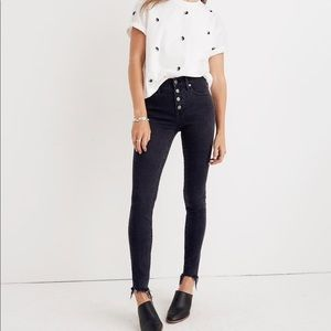 "Madewell 9"" Mid-Rise Skinny Jeans"